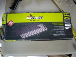 New Char-Broil Rectangle Porcelain-Coated Cast Iron Bbq Gril