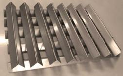 RiversEdge Products Stainless Flavorizer Bars, Set of 13, 20