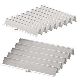 Replacement Stainless Steel Flavorizer Bars for Weber , 13 p