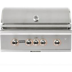 Coyote S-Series 36-Inch 3-Burner Built-in Propane Gas Grill