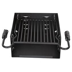 Single Post Park Style Charcoal Grill BBQ Outdoor Picnic Hea