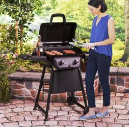 Small Gas Grill Portable Propane Grilling Outdoor BBQ Patio