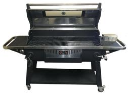 """XL Elite Pig Roaster Rotisserie 48"""" Gas and Charcoal Grill w"""