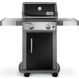Weber Spirit E-210 2-Burner LP Gas Grill, Black