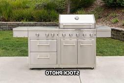 KitchenAid Stainless Steel 8-Burner Outdoor Gas Grill model