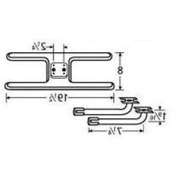 Music City Metals 11002-78002 Stainless Steel Burner Replace