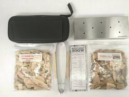 Stainless Steel Gas Grill Smoker Box STARTER KIT For BBQ Box