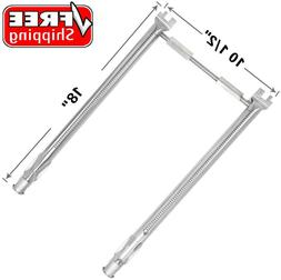 Stainless Steel Pipe Tube Burners Set BBQ Gas Grill Parts fo