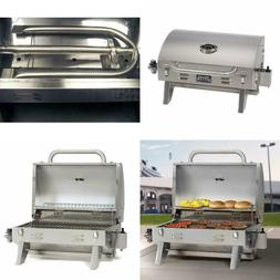 Stainless Steel Tabletop Gas Grill Aussie 205  tailgating ca