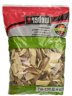 Weber-Stephen Products 17138 Apple Wood Chips, 2 lb