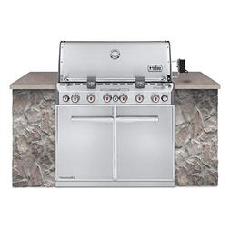 WEBER Summit S-660 Built-In Natural Gas Stainless Steel Gril