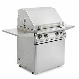 PGS T-Series Commercial 30-Inch Natural Gas Grill On Pedesta