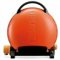 Napoleon TQ2225PO Travel Q Portable Grill, Orange, New, Free