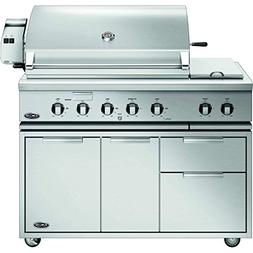 DCS Traditional Gas Grill On Cart with Rotisserie  , 48-Inch