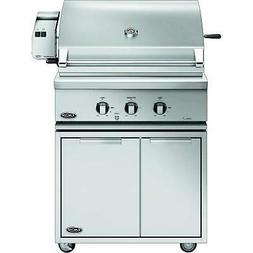 """DCS Traditional Gas Grill On CAD Cart with Rotisserie, 30"""","""