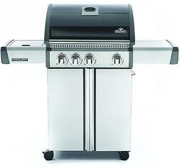 Napoleon Triumph  410 LP Gas Grill With Side Burner, Black W