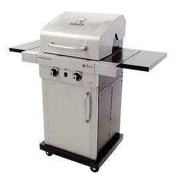 Heavy-Duty Compact Design TRU-Infrared 2-Burner Gas Grill Fo