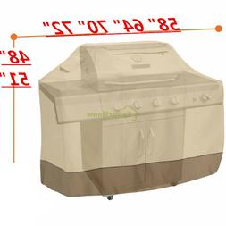 Waterproof BBQ Grill Cover Gas Barbecue Smoker Garden Patio